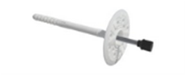 LFM Дюбель для крепления теплоизоляции с металлическим гвоздем и термоголовой (для мокрых фасадов)
