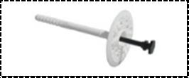 LFN Дюбель для крепления теплоизоляции с пластиковым гвоздем