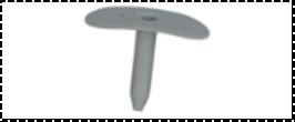 LINOW Дюбель для мягких изоляционных материалов (овальный)