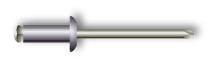 Заклепка вытяжная, лепестковая, стандартный бортик (алюминий/сталь)