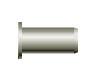 Заклепка резьбовая глухая, цилиндрический бортик (стальная)